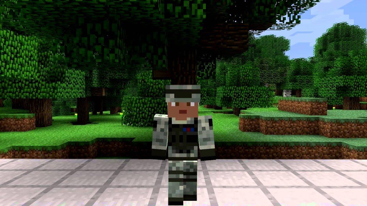 Military Soldier Minecraft Skin Spotlight - YouTube