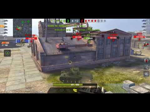 World of tanks blitz ACE on Strv m42
