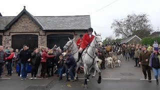 Scuffles and clashes occurred at a Boxing Day fox hunt protest this...