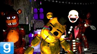 PLAYABLE ANIMATRONICS! - Gmod Five Nights At Freddy
