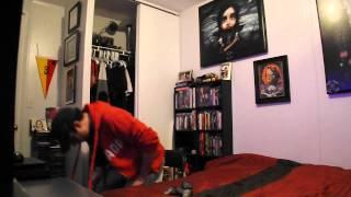 Slim singing Fated, Faithful or Fatal by Marilyn Manson
