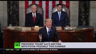 Meeting with Putin 'possible' this summer - Trump