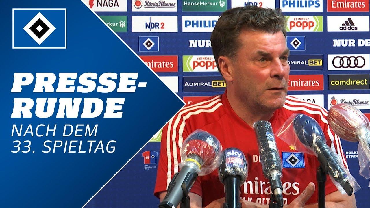 Download Die Presserunde mit Dieter Hecking nach dem 33. Spieltag