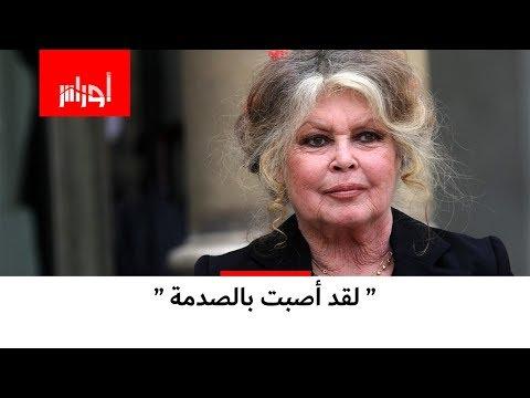 شاهد كيف صدمت الممثلة باردو من احتفالات الجزائريين في فرنسا بتأهل المنتخب