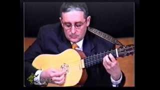 Fantasía de primer tono de Luis Milan. Carlos Gass, Vihuela de mano