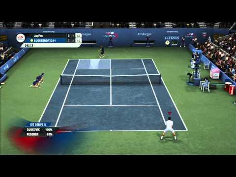 Grand Slam Tennis 2 (Djokovic Vs Federer) Online Ranked Match