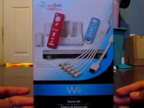 UNBOXING: RocketFish Gaming Wii Starter Kit