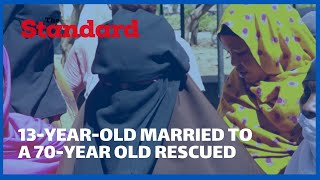 13-year-old girl rescued after fleeing from a forced and abusive marriage to a 70-year-old man