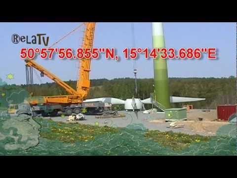 Jindřichovice pod Smrkem wind turbine electric power plant generator installation