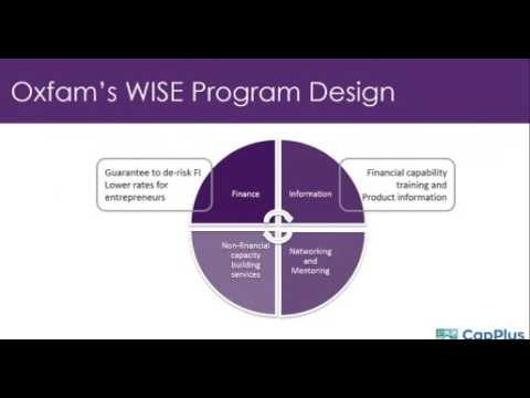 CapPlus & Oxfam Webinar: Empowering and financing women entrepreneurs