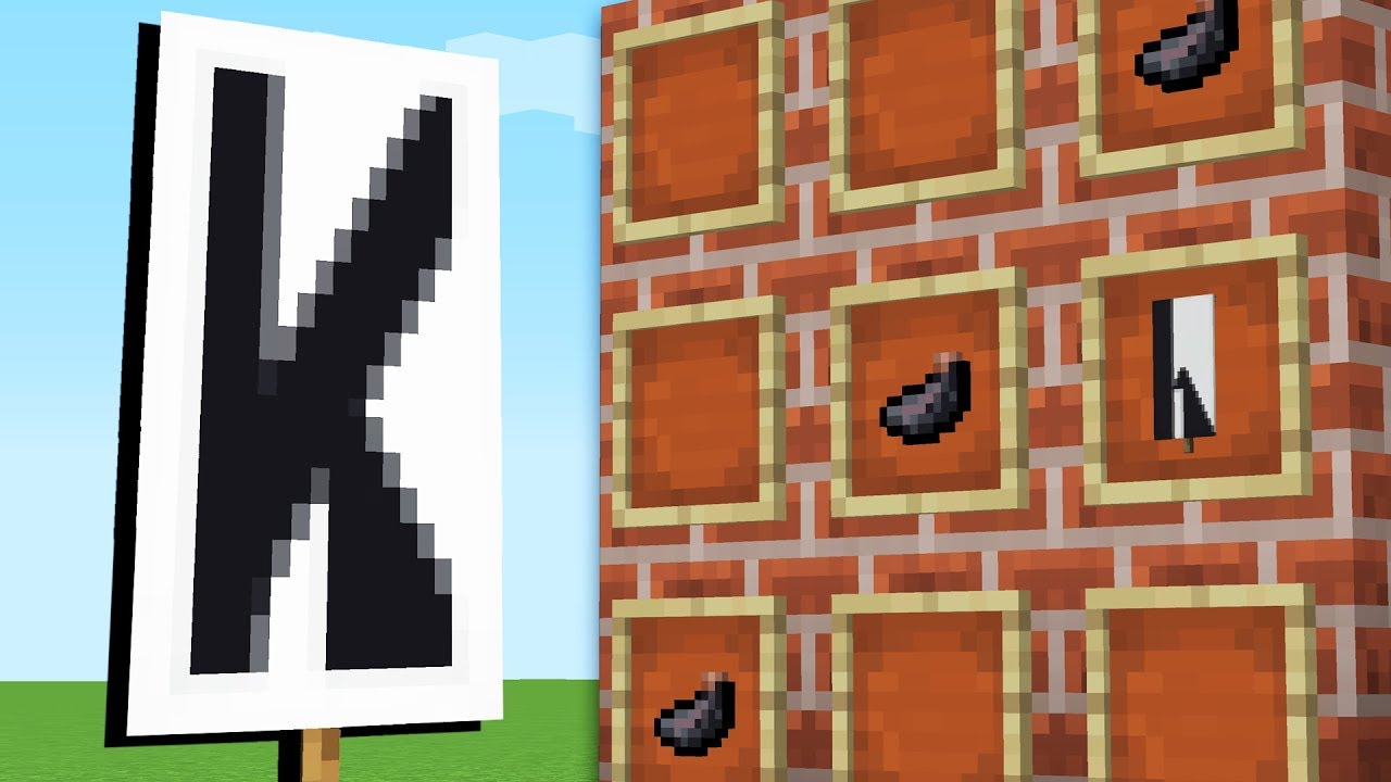 how to write letters on banners minecraft