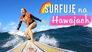 ♀️ Uczę się surfować na Hawajach!  Nakręcone Smakiem #2 | Agnieszka Grzelak Vlog