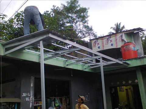 Canopy Baja Ringan Tanpa Tiang 081 376 986 067 Net Kanopi Purworejo 02 Youtube
