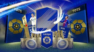 WHAT DOES 30X LA LIGA TOTS PREMIUM PACKS GET YOU?! (STREAM HIGHLIGHTS) | FIFA 18 ULTIMATE TEAM