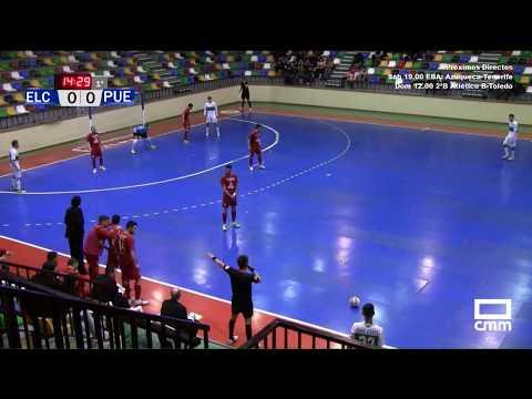 DIRECTO: Fútbol Sala 2ª Div. Elche CF - FSD Puertollano. Castilla - La Mancha Media.