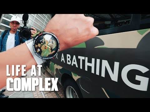 Flew To Tokyo For SWATCH X BAPE Collab! | #LIFEATCOMPLEX