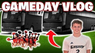 What's a College Soccer Player Away Game Routine Like?