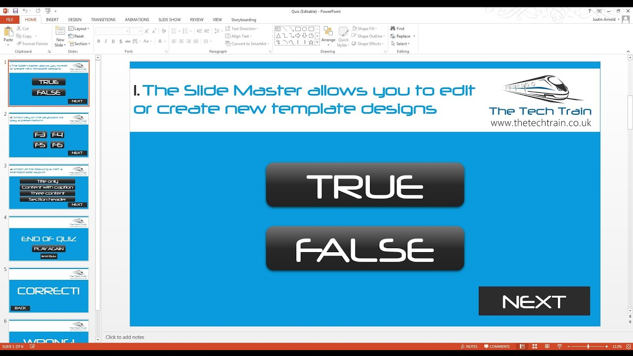 How to create an interactive quiz in powerpoint youtube how to create an interactive quiz in powerpoint toneelgroepblik Gallery