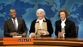 Weekend Update: Washington and Jefferson on Being Compared to Robert E. Lee - SNL thumbnail