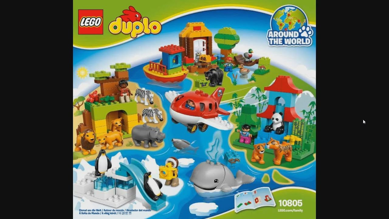 Lego Duplo 10805 Around The World Instruction Timelapse Youtube