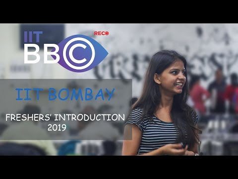 Freshers' 2019 Introduction IIT Bombay