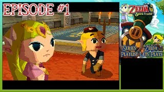 The Legend Of Zelda: Spirit Tracks - Train Trainee, A Foreboding Graduation - Episode 1