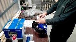 Montage der Kettensäge für das Beschneiden Hyundai LD825