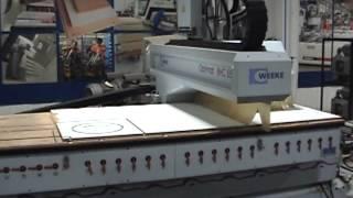 Weeke Model Optimat BHC 550 Machining Center