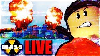 NUKE LIVE EVENT HAPPENING NOW... ☢️ Roblox Jailbreak (LIVE New Update)