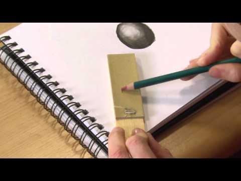 Sandpaper Block & Paper Stump