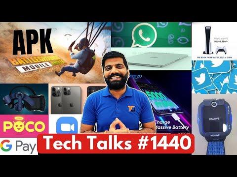 Tech Talks #1440 - Battlegrounds Mobile India APK, iPhone 13, PS5 Restock, Xiaomi Crazy Patent, Poco