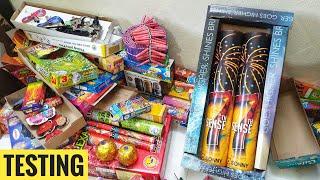 Testing new fireworks Crackers Diwali Crackers testing Diwali video 2021 new patake
