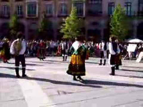 Folk dance in Avila, Spain 05