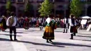Folk dance in Avila, Spain 05
