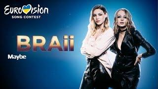 Braii – Maybe – Национальный отбор на Евровидение-2019. Второй полуфинал