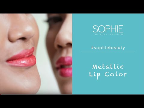 #sophiebeauty---metallic-lip-color