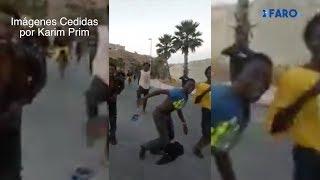 Los gritos de 'Boza': inmigrantes a la carrera por el barrio del Príncipe
