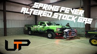 4x4 Altered Stock Gas trucks at the Spring Fever Indoor Truck and Tractor Pull!!!