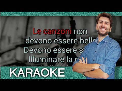 Lorenzo Jovanotti - Le canzoni (Base KARAOKE strumentale)