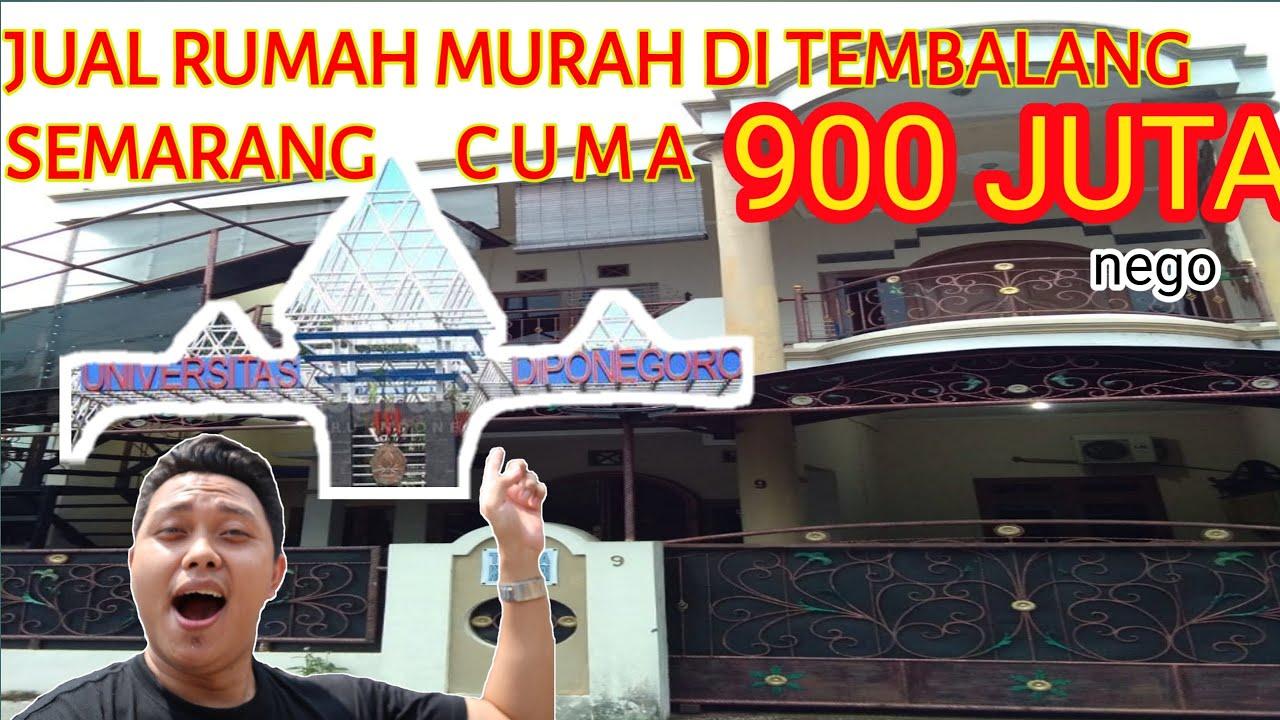 JUAL RUMAH MURAH DI TEMBALANG SEMARANG CUMA 900 JUTA | 2 ...