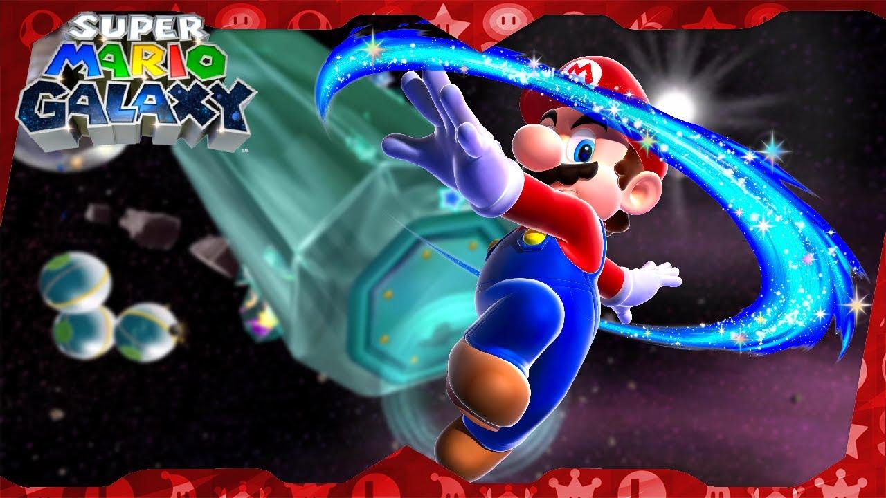 Super Mario Galaxy Walkthrough ᴴᴰ | Space Junk Galaxy (All Stars)
