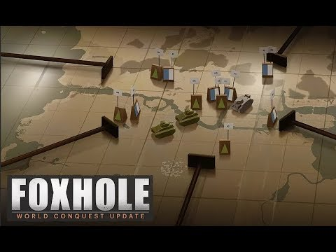 One World Update & Mooring County - Foxhole (Update 0.10)