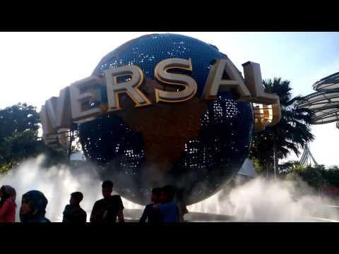 Universal Studios Rotating Globe (Singapore)