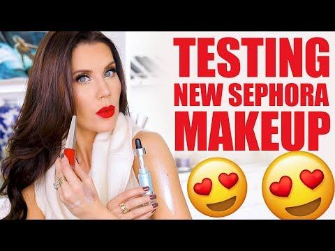 TESTING NEW SEPHORA MAKEUP