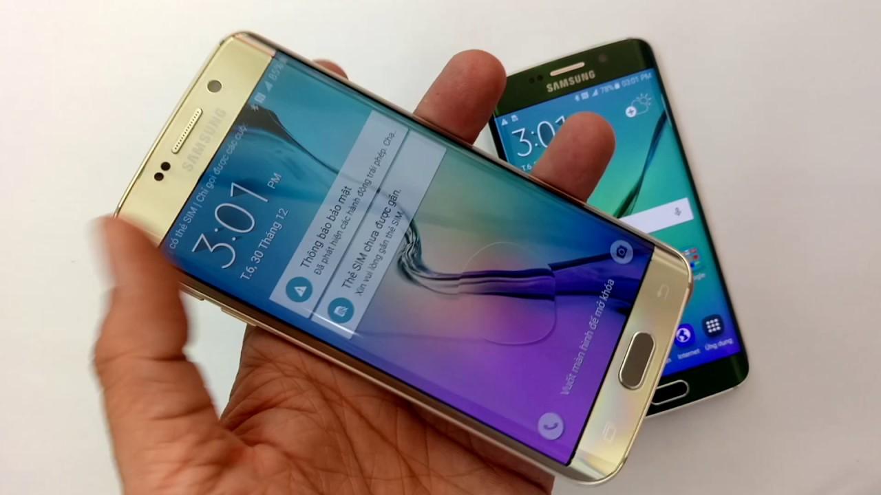 Samsung S6 Edge, Điện Thoại Samsung Galaxy S6 Edge Mới 9899% Gía Siêu Tốt