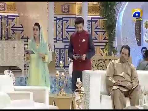 M Talha from Talha Grammar School North Karachi Speech in Ittehad Ramadan Transmission of Geo TV