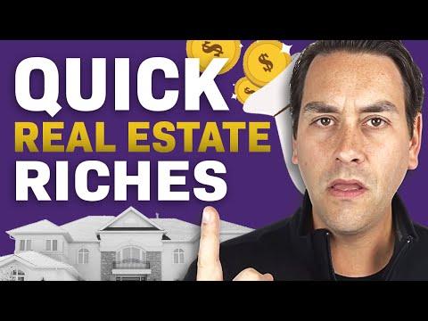 Get Rich QUICK Through Real Estate