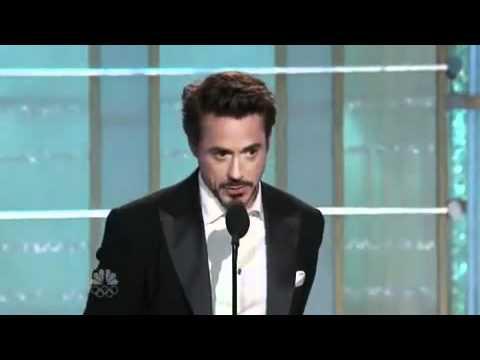 Best Actor - Robert Downey Jr. - Golden Globe Awards