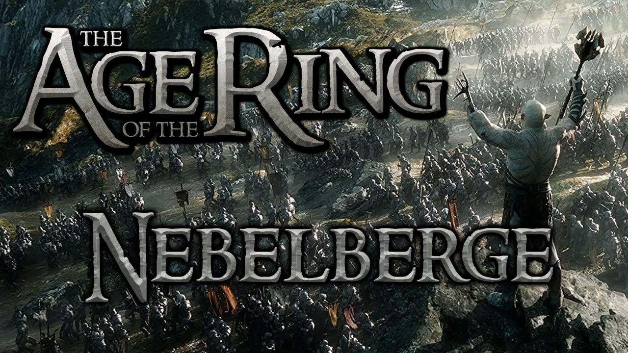 Age of the Ring Mod : Nebelberge / Misty Mountains ( AotR 4.1 Schlacht um Mittelerde 2 AdH )