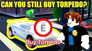 CAN YOU BUY a TORPEDO in SEASON 4???   Roblox Jailbreak
